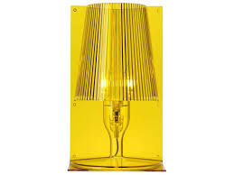 Kartell Take Transparent Yellow Table Lamp Sold In 6 Kar9050q6