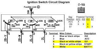stealth 316 wiring tips power lights and ground connections ignition switch circuit diagram