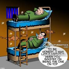 Bunk beds Cartoons and Comics funny pictures from CartoonStock