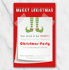 party invite templates free free printable christmas party invitation with christmas