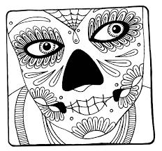 Halloween Printable Dia De Los Muertos
