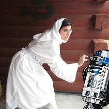 bedsheet diy princess leia costume