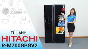 Đánh giá tủ lạnh Hitachi 584 lít R-M700GPGV2: To khỏe bền bỉ • Điện máy XANH  - YouTube