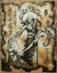 thulsa doom cthulhu larp necronomicon page scroll magick by zarono 10 00
