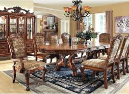 Round Formal Dining Room Sets For 8