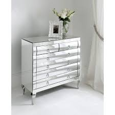 Mirrored Bedroom Dressers Stylish Angelina Dresser Amp Mirror Value City Furniture And