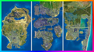 is the gta 5 map actually extremely small!? ultimate los santos Map Gta 5 is the gta 5 map actually extremely small!? ultimate los santos comparison vs gta games & more! youtube mapgta5hiddengems