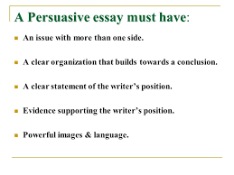 persuasive writing persuasive writing persuasive writing is  a persuasive essay must have a persuasive essay must have an issue more than