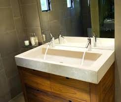 trough style sink. Unique Trough Trough Style Sink Bathroom Modern Double From  J In