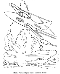 Small Picture Military Jet Coloring Page 002