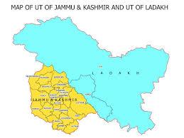 Ladakh Union Territory Map Govt Releases Maps Of Uts Of Jk