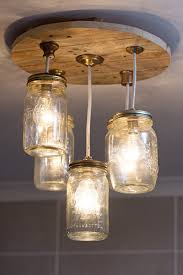How to make a jar chandelier