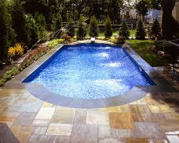 Appealing Fiberglass Swimming Pool Shapes And Sizes Photo Design Ideas