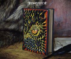 dragon book lava dragon journal black polymer clay cover by dragonarium