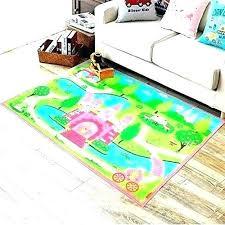 kids rugs bedroom carpet for pink girls cartoon castle rug ikea uk nursery