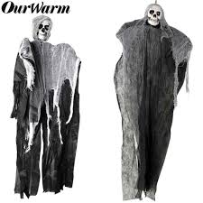 OurWarm Haunted House Hanging Ghost <b>Halloween Decoration</b> ...