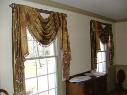 diy arched window treatments
