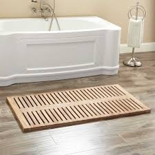 beautiful tessielea this teak bath mat is very well made and has added a spa vibe to our master bathroom it arrived quickly and i was thrilled when i