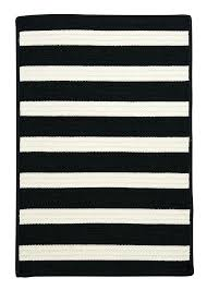 black and white striped outdoor rug navy indoor