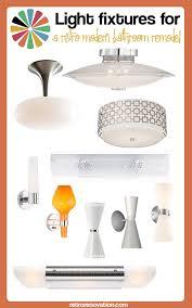 mid century lighting fixtures. Lovely Mid Century Modern Bathroom Lighting Fixtures For A Retro Remodel