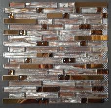 glass mirror mosaic tiles ssmt247 stainless steel tile backsplash glass metallic wall floor tile free mosaics tile