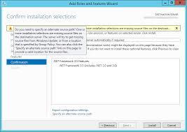 how to install net framework 3 5 on