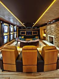 Brown Not Boring Man Cave