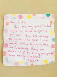 A Heartwarming Letter From A Teacher To Her Student A
