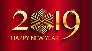 2019 Happy New Year Wallpaper Hd - 2019 ...