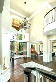 2 story foyer lighting wall decor two two story foyer
