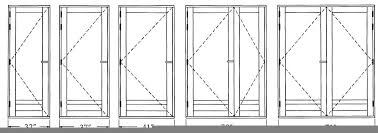 Standard Bedroom Door Show Home Design - Standard bedroom window size