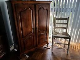 Image Is Loading Ethan Allen TV Cabinet Willing To Sell Quickly