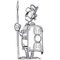 Asterix En Obelix Kleurplaat Gratis En Uniek Kleurplaatjecom