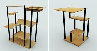 cat furniture modern. MadCat Modern Modular Customizable Cat Climbing Furniture