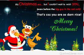 santa claus eve quote with picture