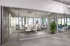 office meeting room. Eco-friendly-meeting-room-design-with-glass-wall- Office Meeting Room B