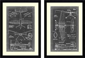 vision studio aeronautic blueprint iii