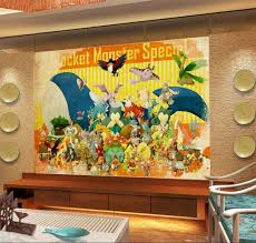 Pokemon Room Decor · 3D Wall Murals For Kids Room