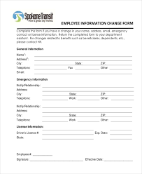 Sample Employee Information Form 10 Free Documents In Doc Pdf