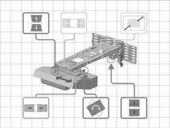 HITACHI Projector Wall mount unit for projectors <b>HAS</b>-<b>WM06</b> User's ...