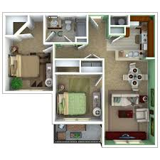 2 bedroom apartment floor plan tranquility