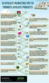 affiliate marketing tips to promote affiliate products ly 18 affiliate marketing tips to promote affiliate products infographic