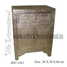 white metal furniture. White-metal-bedside-cabinet-with-one-drawer White Metal Furniture