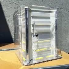 acrylic countertop display case acrylic acrylic lucite countertop display case showcase box cabinet