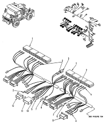 Hull or chassis wiring harness main wiring harness figure 4 of 4