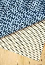 rubber anti slip rug pad underlay wood or tiled floors smell
