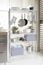 Kitchen Storage Shelves Ideas Best 25 Kitchen Rack Ideas On Pinterest Kitchen Racks Small