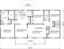 small 4 bedroom house plans. Delighful House Small 4 Bedroom House Plans Simple A  Plan Awesome Farmhouse Throughout