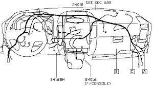 nissan titan wiring diagram and body electrical parts schematic