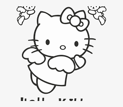 Some logos are clickable and available in large sizes. Hello Kitty Logo Vector Fictional Character Format Angel Hello Kitty Coloring Pages Free Transparent Png Download Pngkey